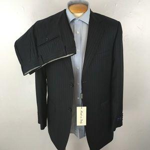 Other - Ermenegildo zegna cloth mens suit blue 38r ea0328